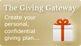 Giving Gateway Button