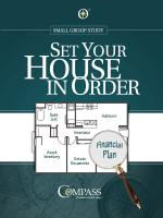 Set Your House in Order