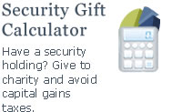Security Gift Calculator